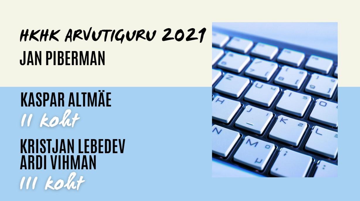 Arvutiguru 2021