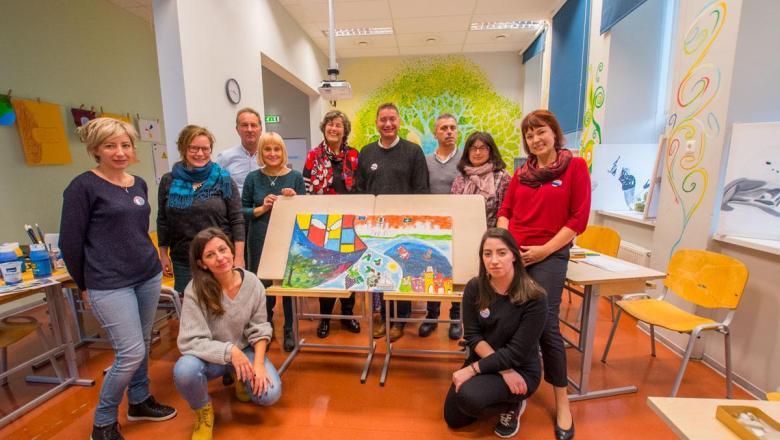 Haapsalu Kutsehariduse täiskasvanuhariduse teemaline Erasmus+ projekt
